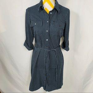 J. McLaughlin Catalina Shift Dress Blue Size S